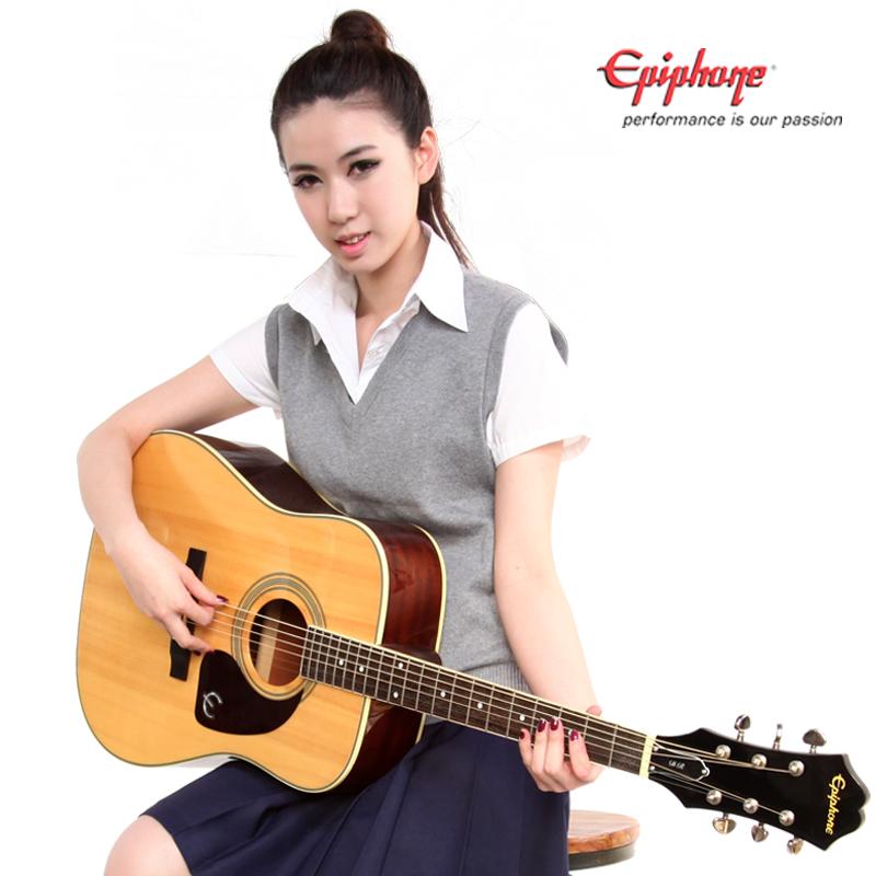 正品 Epiphone DR220S 单板民谣吉他